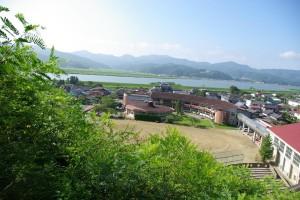 山から校舎