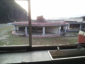 2階から、2年生教室