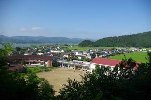 01山から校舎